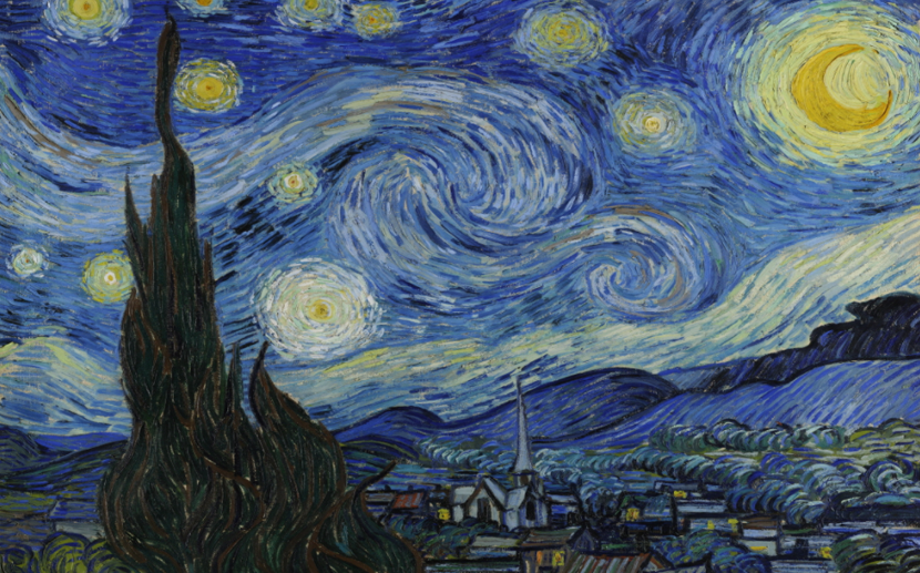 The Starry Night 사진